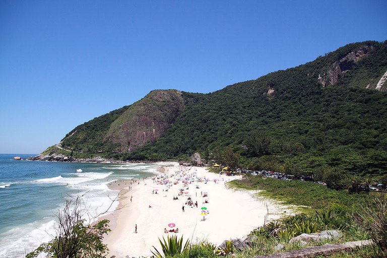 Prainha, or little beach |© Halley Pacheco de Oliveira/WikiCommons