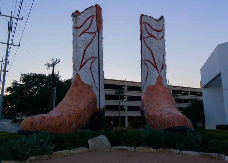 San Antonio Boots © Nan Palmero/Flickr