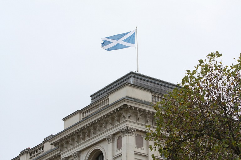 Scottish Saltire | © Foreign And Commonwealth Office/Flickr