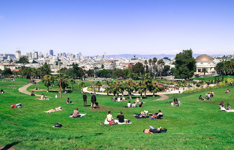 Dolores Park © Travel Coffee Book/Wikipedia