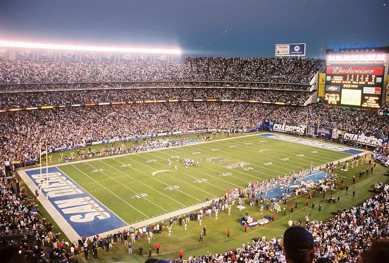 Qualcomm Stadium © Bspangenberg/Wikipedia