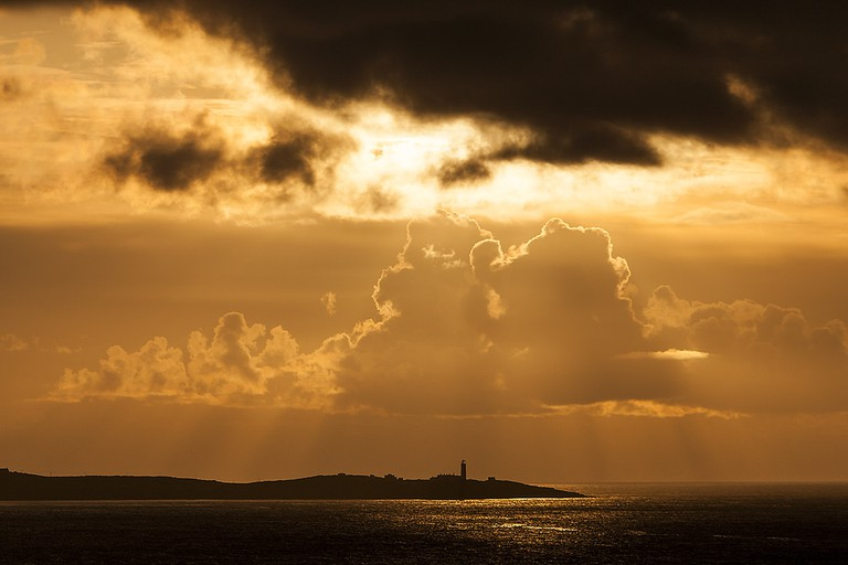 Fanad Lighthouse sunset | © Greg Clarke/Flickr