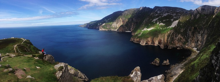 Slieve League panorama along the Wild Atlantic Way | © Greg Clarke/Flickr