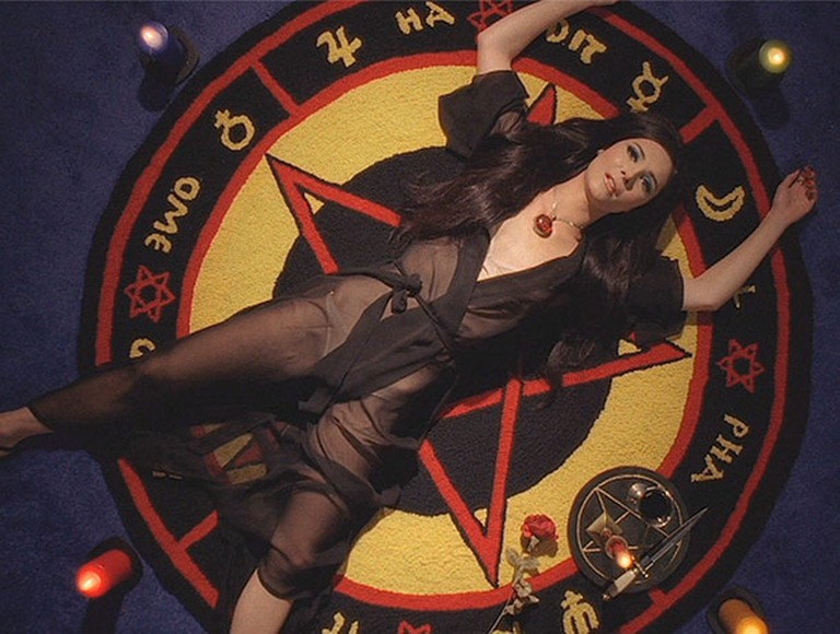 Casting her spell: Samantha Robinson