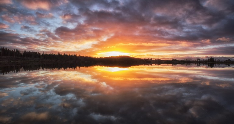 Breaking Dawn Over Loch Rusky