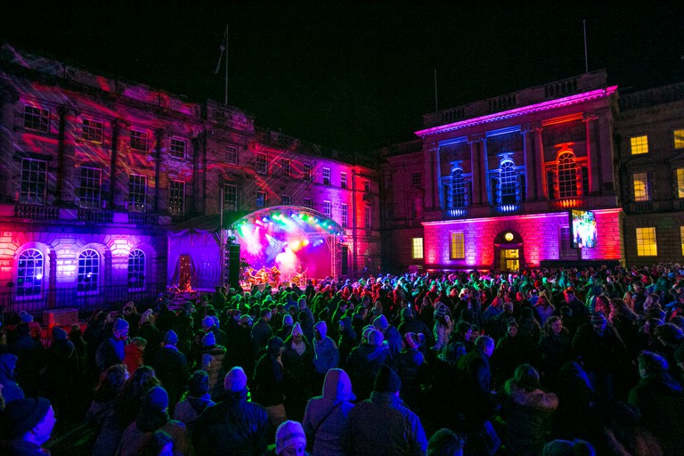Old Town Ceilidh | © Lloyd Smith / Courtesy Of Edinburgh's Hogmanay