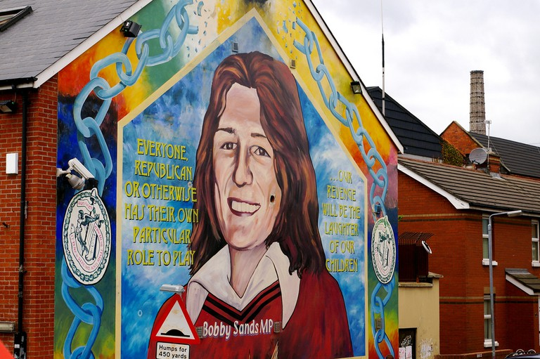 Bobby Sands mural, Belfast | © Irish Fireside/Flickr