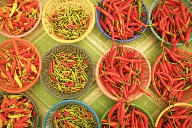 Thai chilis for sale