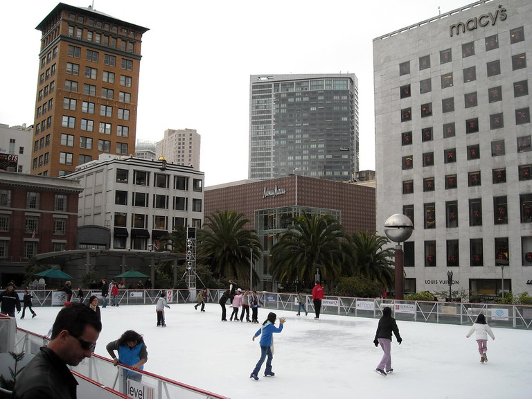 Union Square Ice Skating © Szilveszter Farkas/Flickr