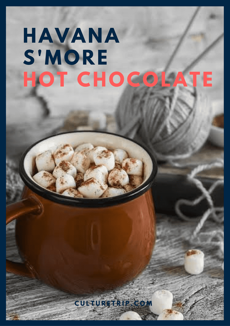Havana Smores Hot Chocolate