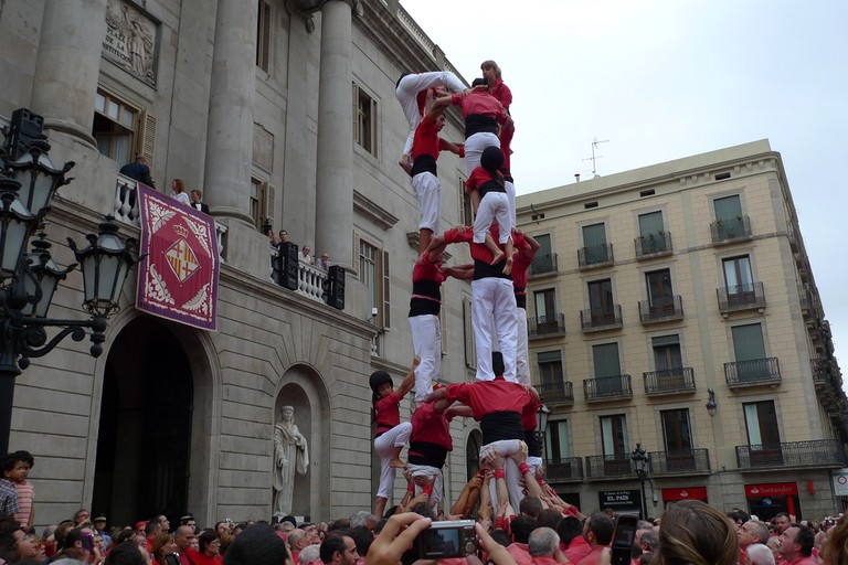 The castellers – a unique Catalan tradition