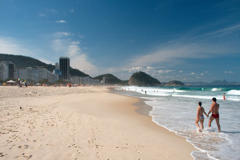 Copacabana beach |@ Christian Haugen/Flickr