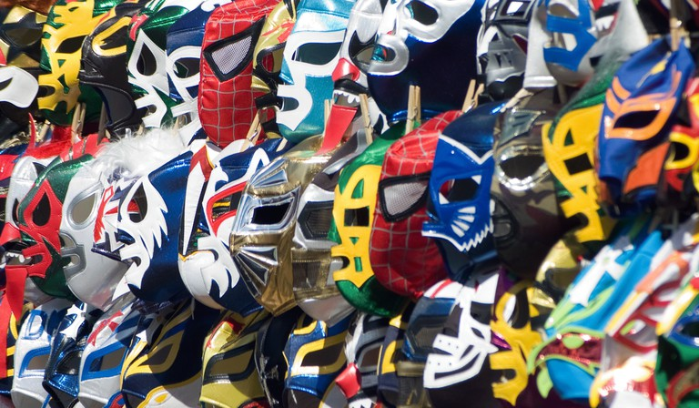 Lucha libre masks│ © Craig/Flickr