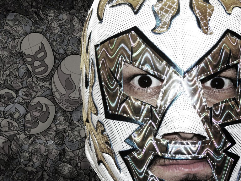 Lucha Libre mask close up │ © Gabriel Garcia Marengo/Flickr