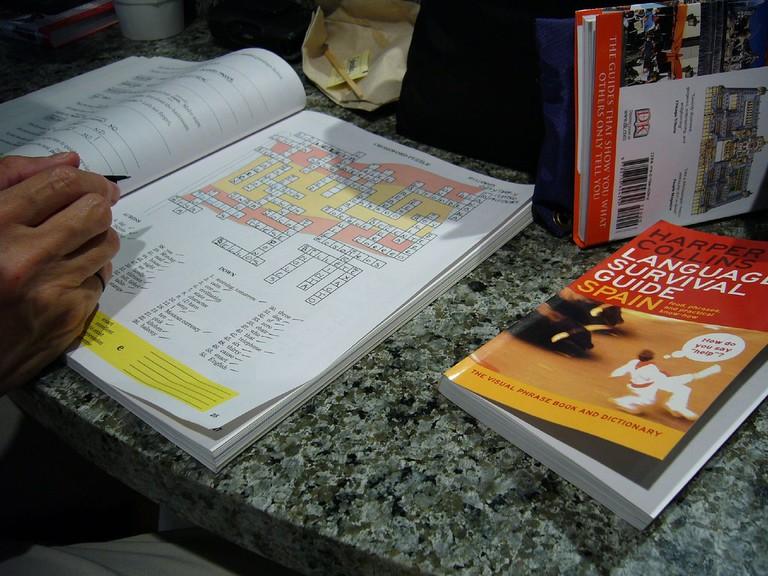 A Spanish book
