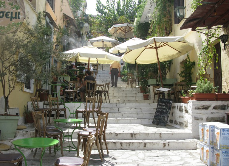 In Plaka, Athens, Greece