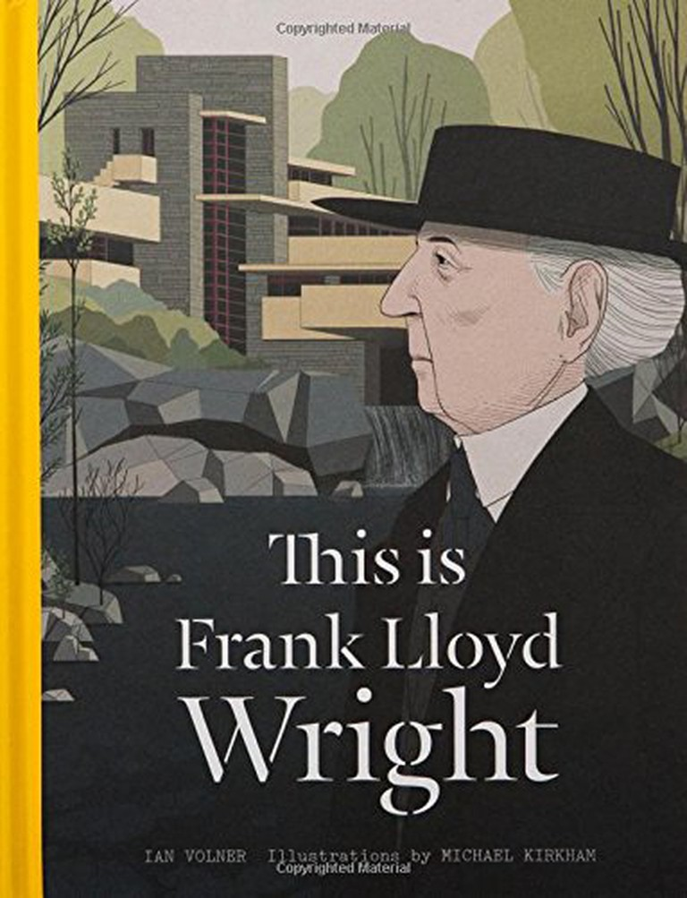 This is Frank Lloyd Wright cover