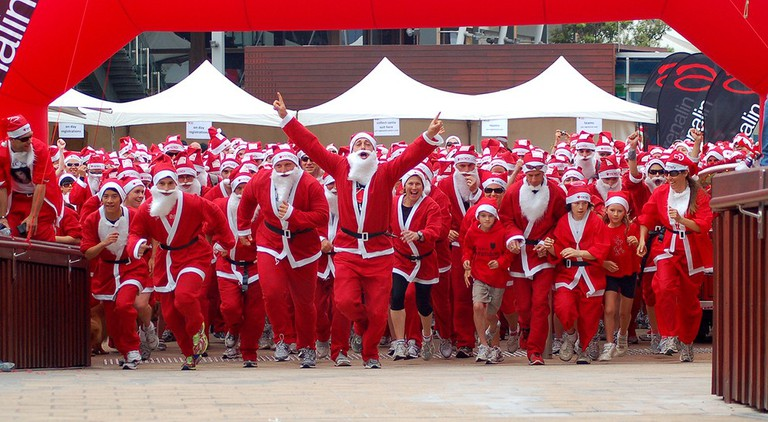 Santa Fun Run | © Me!bourne Mermaid/Flickr