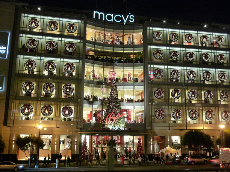 Union Square Macy's © kennejima/Flickr