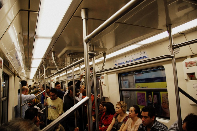 On the Mexico City Metro | © LWYang/Flickr
