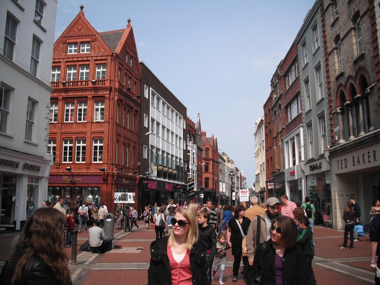 Grafton Street | © antonf/Flickr