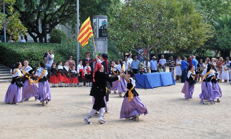 Celebrating la Diada in Esplugues de Llobregat | © Ajuntament d'Esplugues de Llobregat