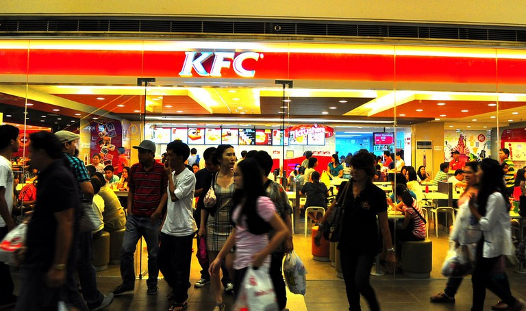 Inside a KFC in the Philipines | © whologwhy/Flickr