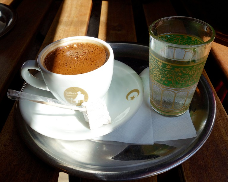 Fazıl Bey in Türk Kahvesi