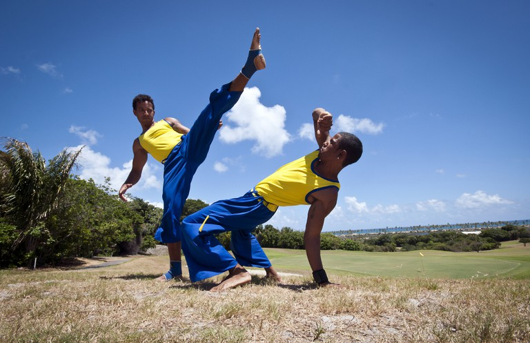 Capoeira skills  © Turismo Bahia/Flickr