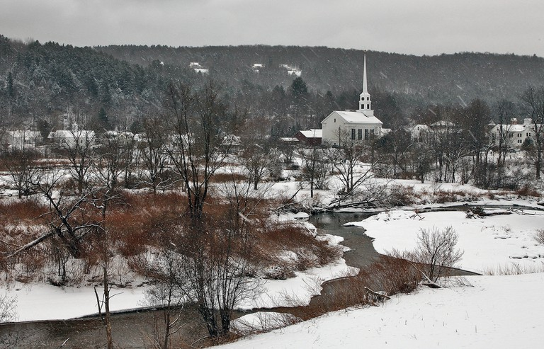 Stowe, Vermont, winter | © Peter Rintels/Flickr