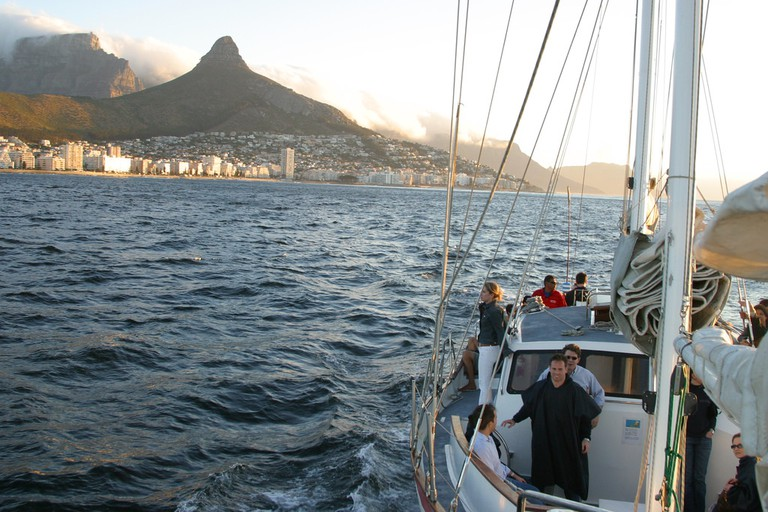 Sunset cruise, Cape Town