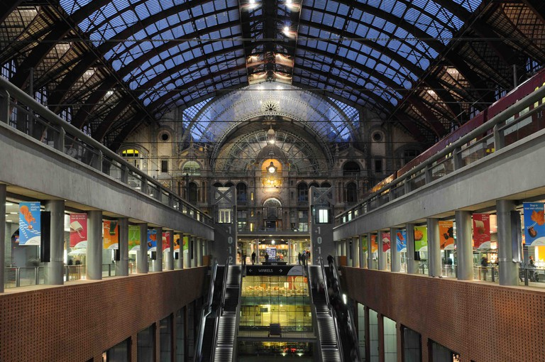 Antwerp Central Station | © Jan Crab/courtesy of Visit Antwerp