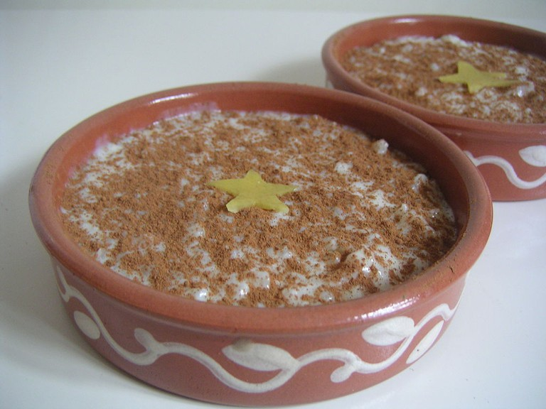 Arroz con Leche By Slastic (Own work) [Public domain], via Wikimedia Commons