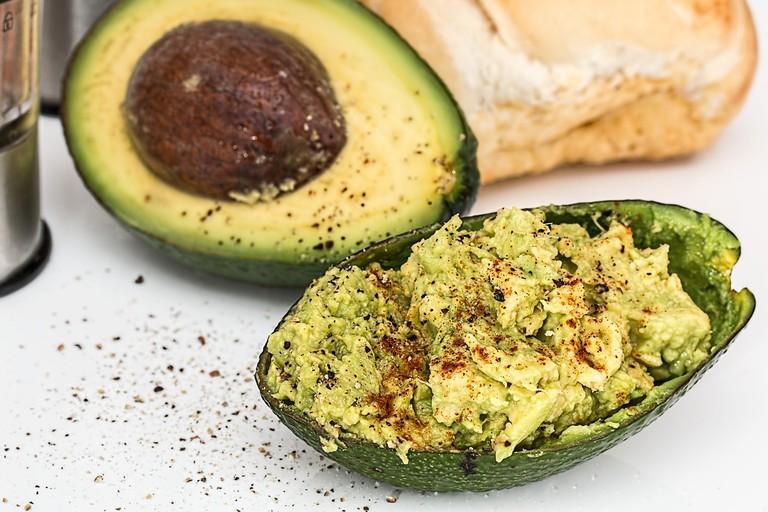 avocado more potassium
