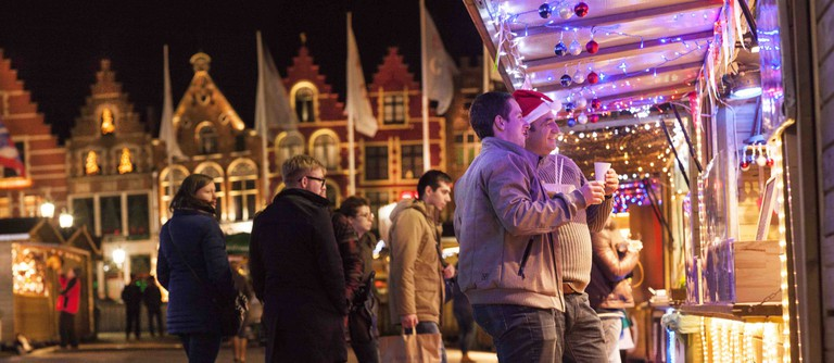 Christmas market | © Jan D'Hondt/courtesy of Toerisme Brugge