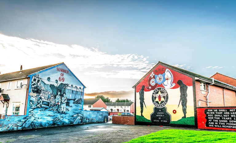 Loyalist Murals In Lower Shankill, Belfast | © Dee Mc/Flickr