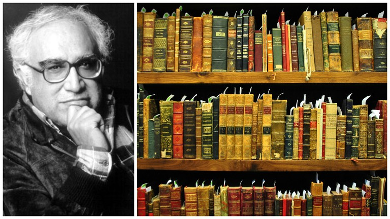 Carlos Monsiváis | © WikiCommons / His personal library | © ProtoplasmaKid/WikiCommons