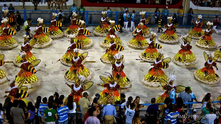 The carnival parades  © Ian Gampon/Flickr