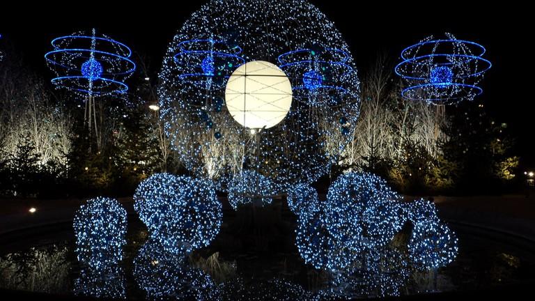 Christmas illuminations │© Erasmus of Paris