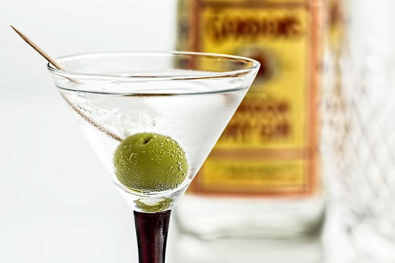 Dry martini | CC0 Pixabay