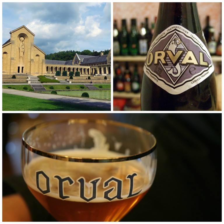 Orval Abbey and Orval Trappist