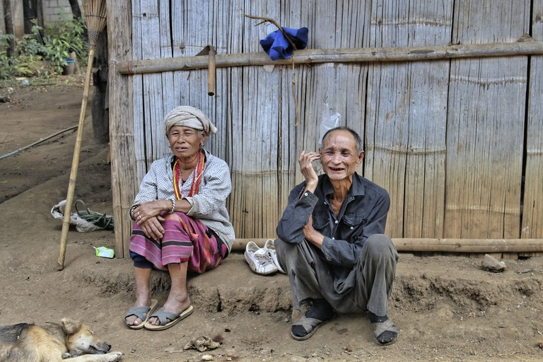 Hill tribe in North Thailand