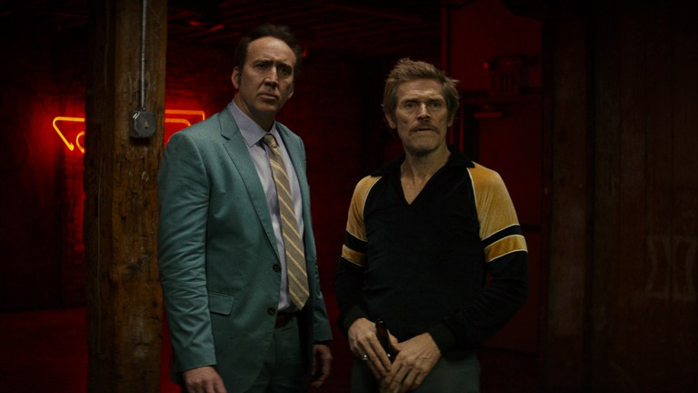 Nic Cage and Willem Dafoe