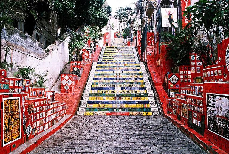 Escadaria selaron |© Adelano Lázaro/WikiCommons