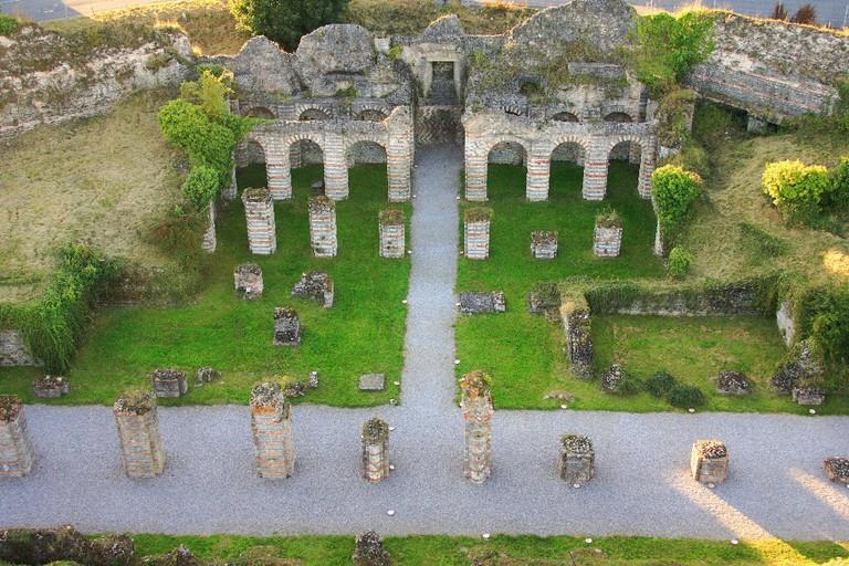 Forum Antique de Bavay (site archéologique) │ © Philippe Houzé