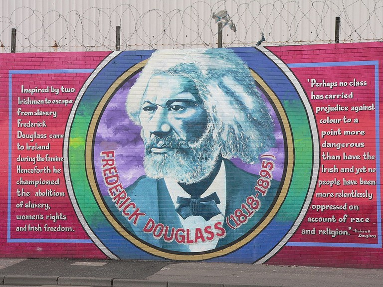 Frederick Douglass mural on the 'Solidarity Wall' | © Laurence/Flickr