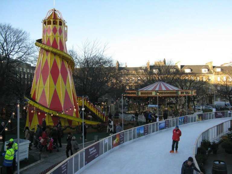 St. Andrews Square Ice Rink | © M J Richardson/Geograph