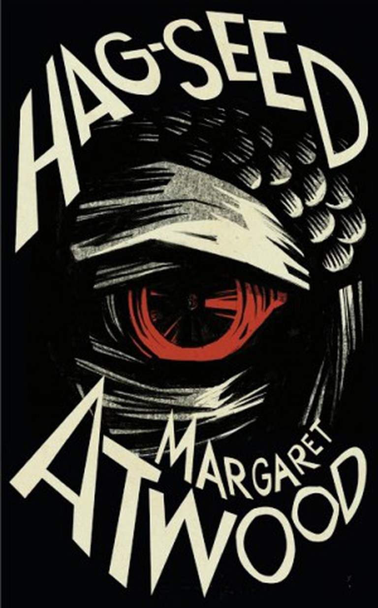 From the UK cover of 'Hag-Seed'