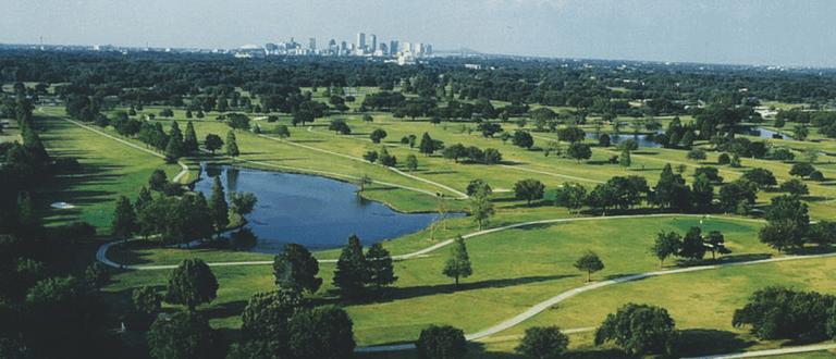 City Park Golf Course, courtesy of New Orleans' City Park