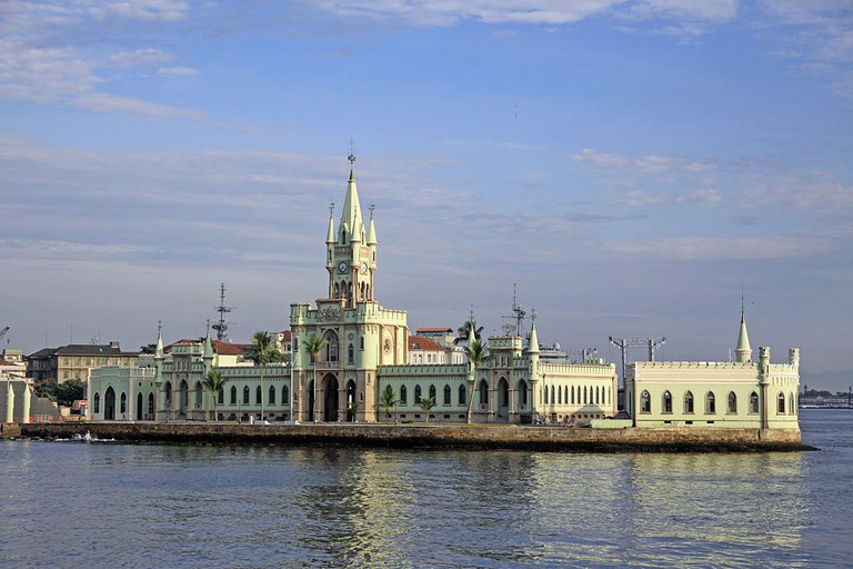 The palace on the Ilha Fiscal  © Halley Pacheco de Oliveira/WikiCommons